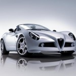 Alfaromeo 8c Spider Wallpaper