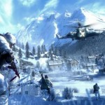 Battlefield Bad Company 2 Cold Blue Wallpaper