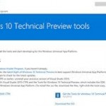 Windows Insiders Getting Windows 10 Developer Tooling Preview